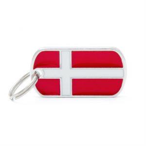 Dansk flag hundetegn