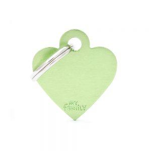 Grøn hjerte hundetegn