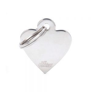 Sølv hjerte hundetegn